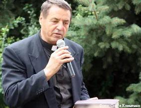 Пастор лютеранской церкви Геннадий Хонин.