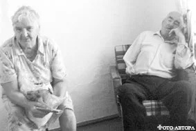 Александра Ивановна и Василий Васильевич Люфт.
