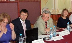 Председатели региональных обществ немцев Казахстана.
