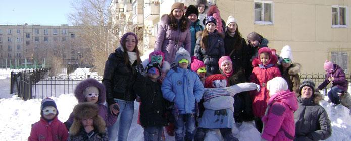 Устроить свои проводы зимы решили и воспитанники Воскресной школы.