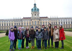 Ученики столичной немецкой школы-комплекса № 46