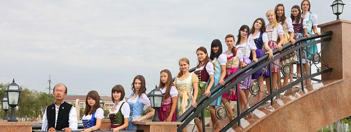 Немецкий хор «Veilchen» в Алматы
