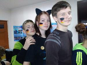 Клубу немецкой молодежи «Glück» 7 лет!