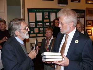 Визит Генерального консула ФРГ г-на Петера Шаллера в Музей истории школы К.Мая.
