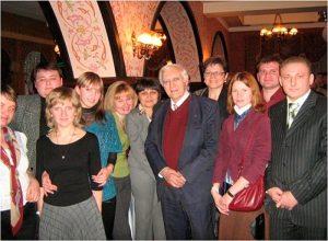 Эрнст Боос с представителями Молодежного крыла НОНК