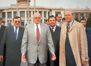 Визит Президента ФРГ Р.Херцога в Казахстан. 1995 г.