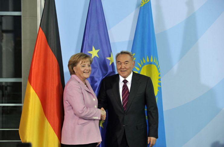 Нурсултан Назарбаев встретился с Федеральным канцлером Ангелой Меркель