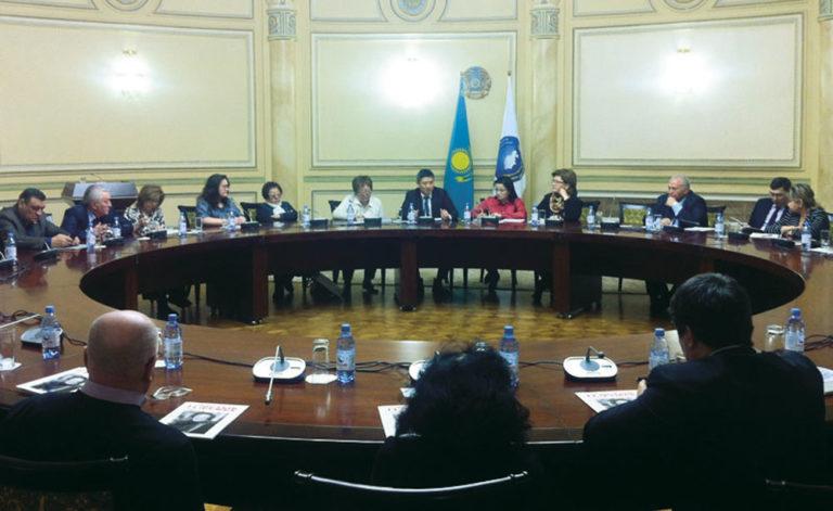Выездное заседание Клуба журналистов Ассамблеи народа Казахстана