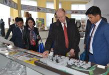 Генеральный консул ФРГ Йорн Розенберг посетил Южно-Казахстанскую область