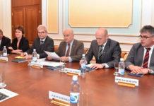 Немецкая делегация в Министерстве иностранных дел РК.