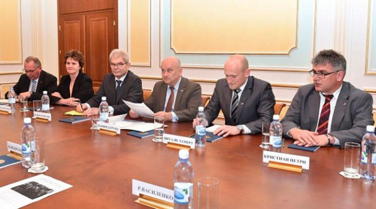 Визит Парламентской группы  «ФРГ – Центральная Азия» в Казахстан