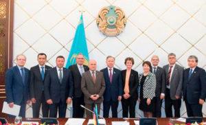 Председатель Мажилиса Парламента РК Нурлан Нигматулин встретился с членами Бундестага.