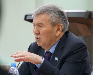 Рахман Алшанов, президент Ассоциации вузов Казахстана, ректор университета «Туран».