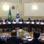 В Доме дружбы г.Алматы состоялось республиканское заседание Совета Ассамблеи народа Казахстана с участием Дархана Мынбая.
