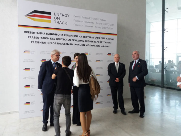 Energy on Track: презентация павильона Германии на выставке EXPO-2017