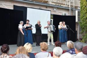 Выступление вокально-инструментального ансамбля «Lebensfreude».