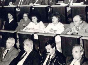 Первый съезд советских немцев. Москва, 12-15 марта 1991 г.