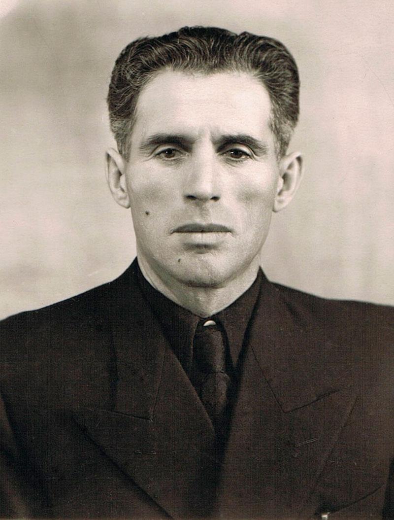 Иван Давыдович Ридель. Темиртау, 1958 г.