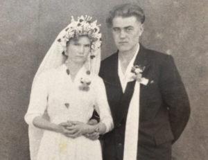 Свадьба Александра и Елизаветы. 1961 г.
