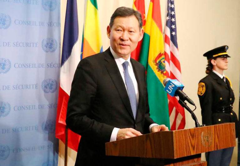 Брифинг Совета Безопасности ООН