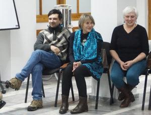 Александр Фельдмайер, Юлия Толикова, Марина Бзикадзе и Ирина Вакенгут.