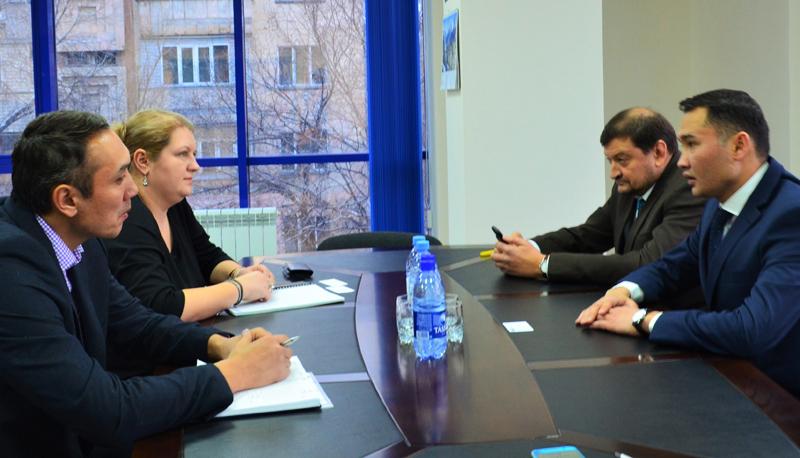 «Kazakh Invest» и Представительство Германской экономики в Центральной Азии договорились об активизации инвестсотрудничества между странами