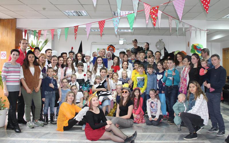 Первого апреля арт-студия «Созвездие» при клубе немецкой молодежи г.Алматы «Vorwärts» отметила праздник Ostern.