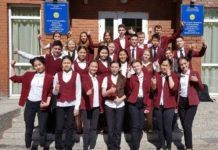 Ученики гимназии.