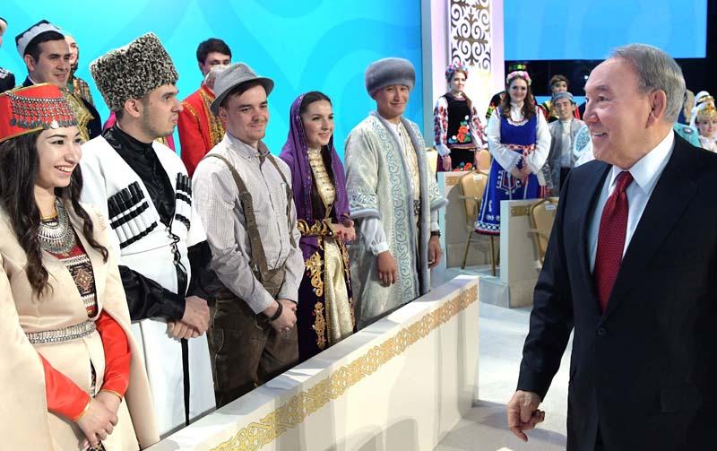 XXVI сессия Ассамблеи народа Казахстана «Пять социальных инициатив – платформа социального единства общества»