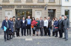 Участники программы повышения квалификации в Германии по дуальному образованию.