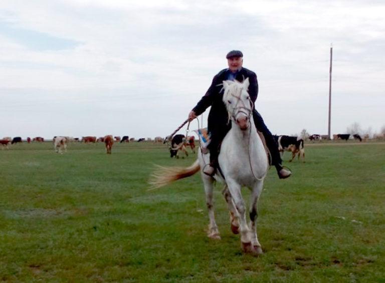 Николай Шерер – всегда на коне