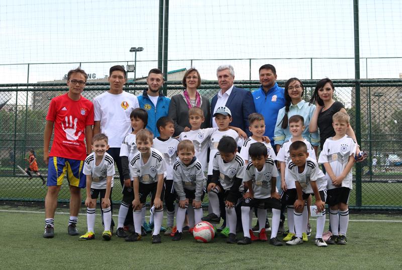 Немецкая футбольная школа