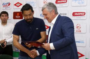 Семетей Султанов и Валерий Диль.