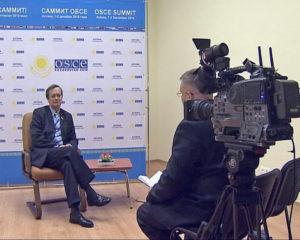 Интервью с Марком Перреном де Бришамбо. 28 ноября 2010, Астана.