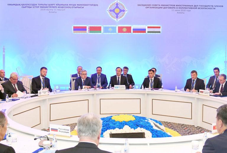 Укрепление сотрудничества ОДКБ