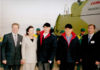 Справа налево: Иван Сауэр, Президент РК Нурсултан Назарбаев, Президент ФРГ Хорст Кёлер с супругой, аким Акмолинской области Альберт Рау (2008 г.).