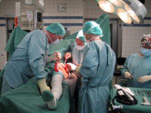 """В операционной больницы """"Мартин Лютер кранкенхаус"""" (Берлин, Германия). Операционная"""