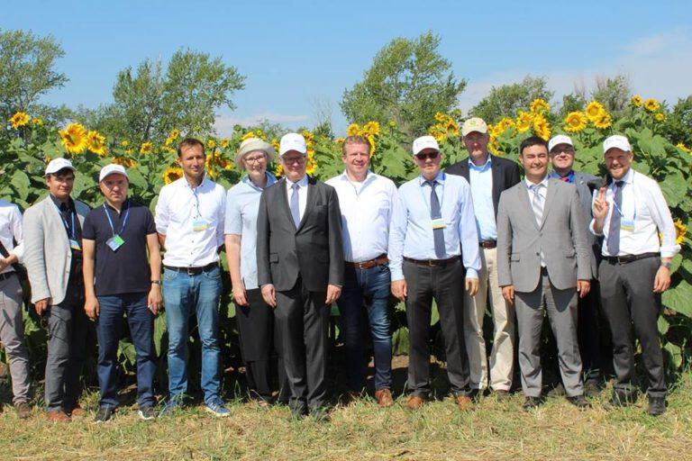 День поля прошел в Казахстане