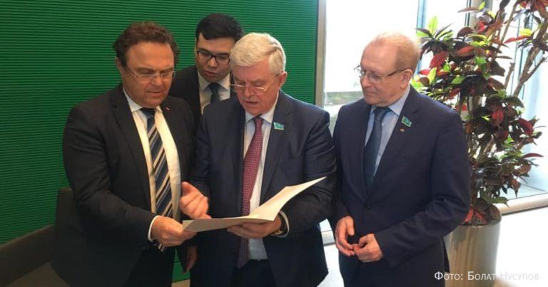 Казахстан и Германия – крепкие взаимовыгодные связи