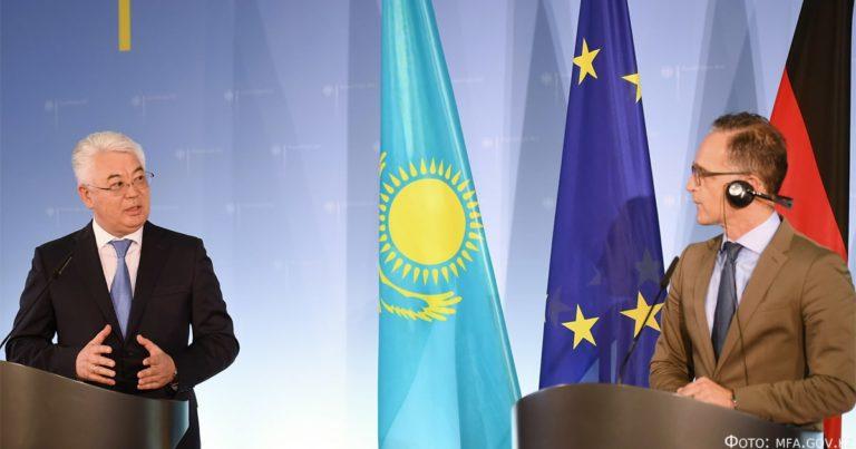 Новый этап казахстанско-германского взаимодействия