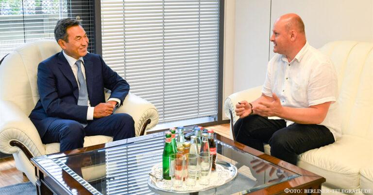Казахстан и Германия вступили в качественно новый этап сотрудничества