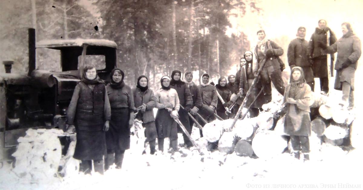 Работа на лесозаготовках