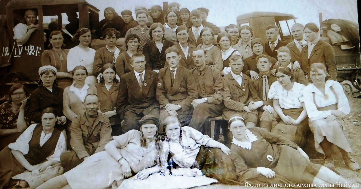 Школа механизации в Большенарыме, 1942 год