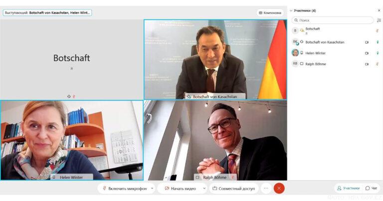 Казахстан-Германия: цели успешного сотрудничества