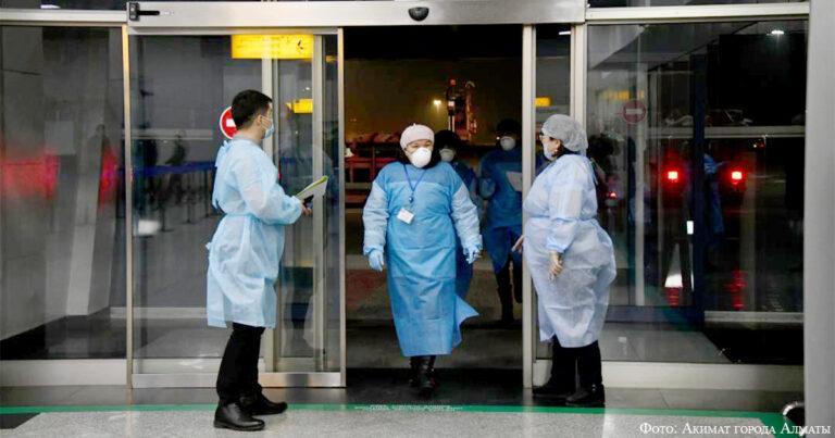 Третья волна пандемии коронавируса в Алматы