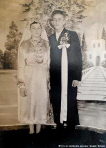Свадебные наряды немцев-меннонитов, 1950-е