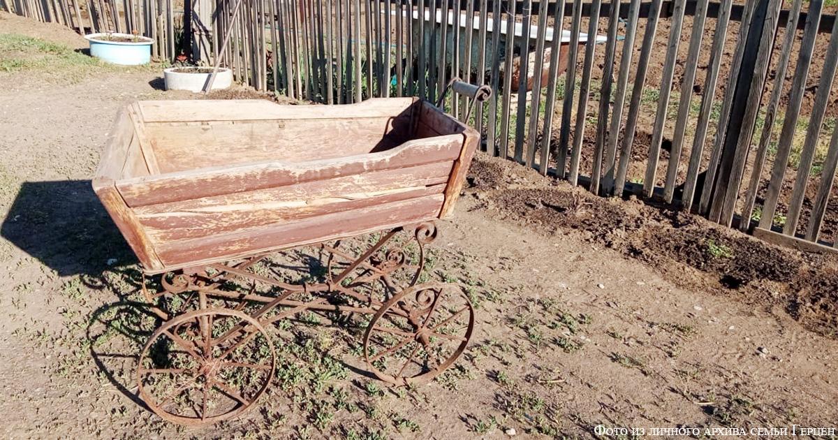 Детская коляска 30-х годов