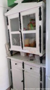 Шкафчик кухонный, 50-х, ручная работа