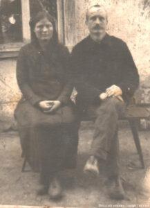 Давид Иванович Тиссен с супругой