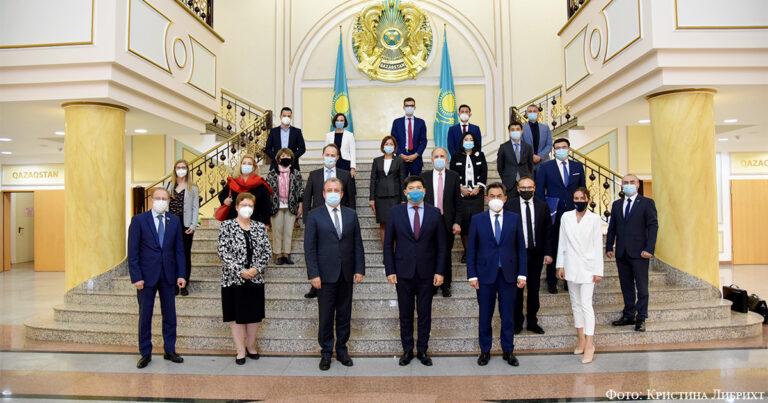 Итоги XVIII заседания Казахстанско-Германской межправительственной комиссии